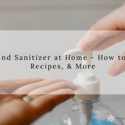 How to Make DIY Hand Sanitizer at Home Recipes